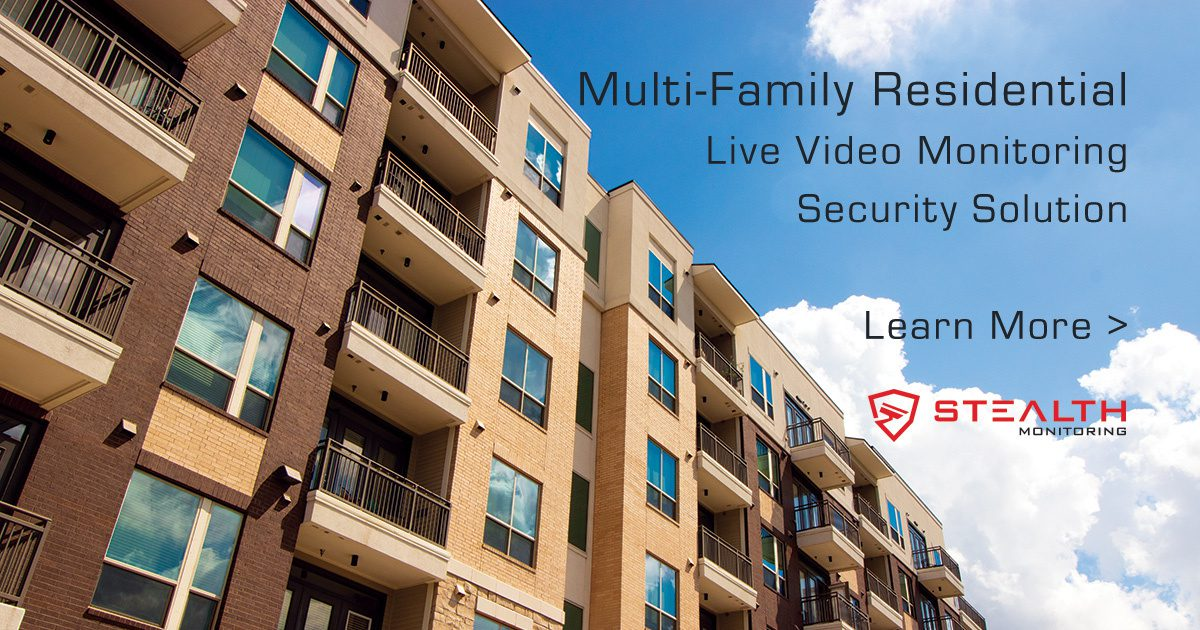Multi-Family and Apartment Security and Live Video